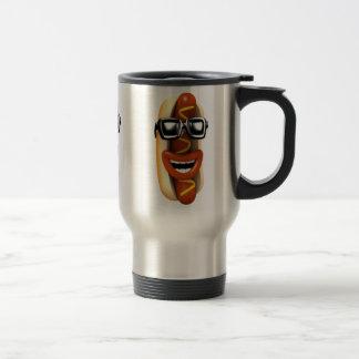 3d Hot Dog Sunglasses (Any Color U Like) Travel Mug