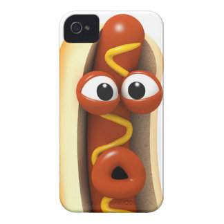 3d Hot Dog Surprise! iPhone 4 Cases