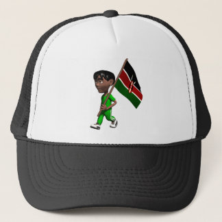 3D Kenya Trucker Hat