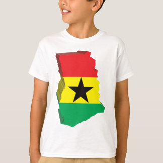3D Map Of Ghana T-Shirt