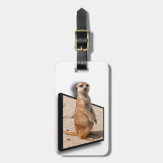 3D Meerkat | are we there yet? Luggage Tag