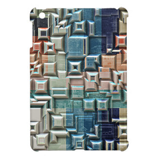 3D Metallic Structure Cover For The iPad Mini