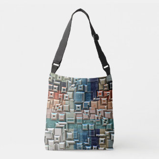 3D Metallic Structure Crossbody Bag