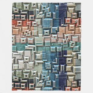 3D Metallic Structure Fleece Blanket
