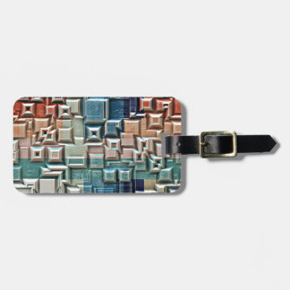 3D Metallic Structure Luggage Tag