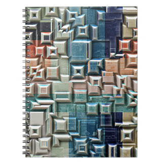 3D Metallic Structure Notebooks