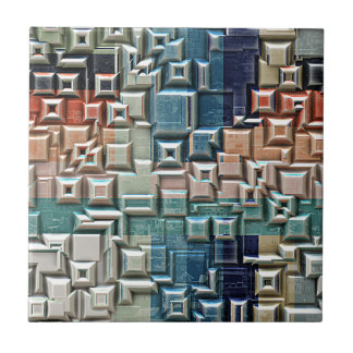 3D Metallic Structure Tile