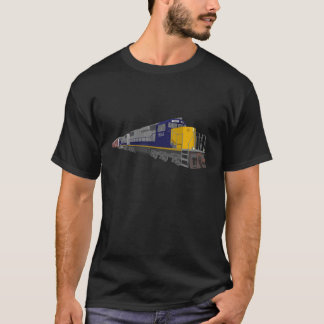 3D Model: Freight Train: Railroad: T-Shirt