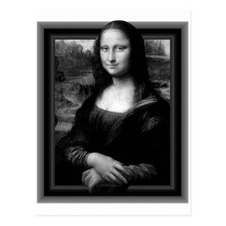 3D MONA LISA POSTCARD