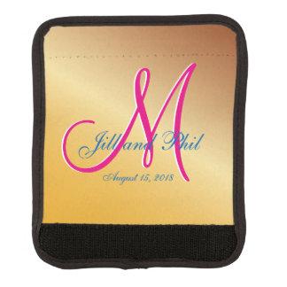 3d Monogram Citrine Luggage Handle Wrap