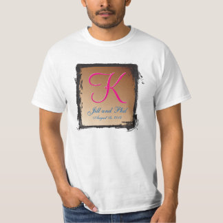 3d Monogram Copper T-Shirt
