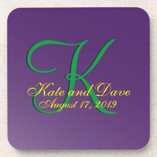 3d Monogram Purple