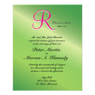 3d Monogram Verdant Green Pepper Flyer