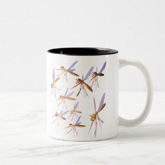 3d Mosquitoes - Bug Hunt Two-Tone Coffee Mug
