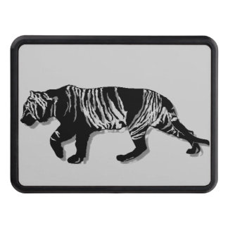 3D Mountain Tiger Trailer Hitch Cover