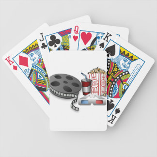 3D Movie Bicycle Playing Cards