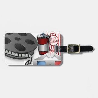 3D Movie Luggage Tag