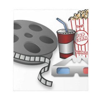 3D Movie Notepad
