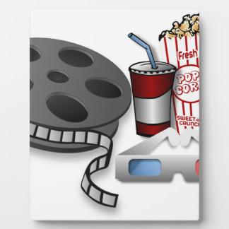 3D Movie Plaque