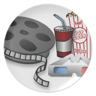 3D Movie Plate