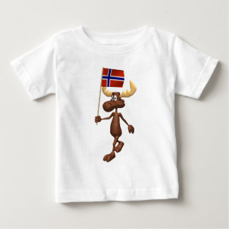 3D Norway Baby T-Shirt