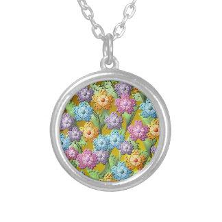 3D Paper Flower Garden Necklace