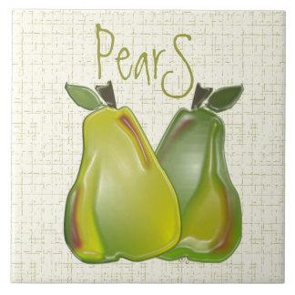 3D Pears (WC) Tile