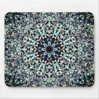 3D Pebble Beach Mandala Mouse Pad