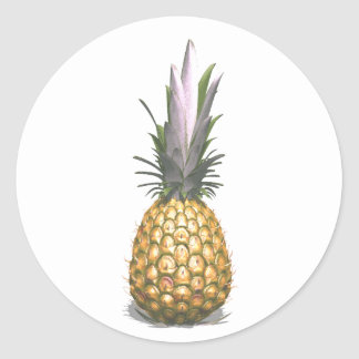 3D Pineapple Sticker | Fun Pineapple