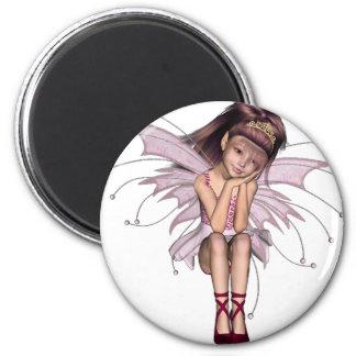 3D Pink Pixie 3 Magnet