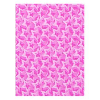 3D pink stars Tablecloth