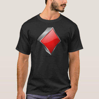 3D poker symbol with shadow T-Shirt
