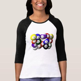 3D POOL BALLS T-Shirt