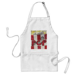 3d popcorn apron
