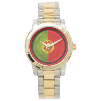 3D Portugal flag Watches