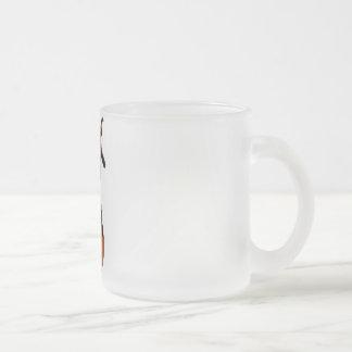 3D PUNK PUMPKIN GIRL - ORIGINAL FROSTED GLASS COFFEE MUG