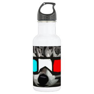 3D Raccoon 532 Ml Water Bottle