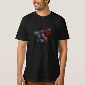 3D rendered Kainic acid molecule T-shirt