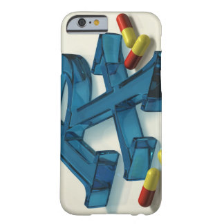 3D RX symbol with capsules Barely There iPhone 6 Case