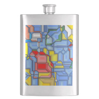 3D shapes Flasks