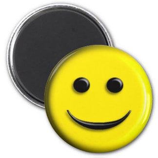 3D Smiley Magnet
