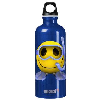 3d Smiley Scuba diver