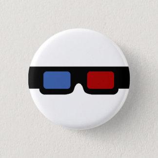 3D specs 1 Inch Round Button