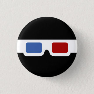 3D Specs (Original) 1 Inch Round Button