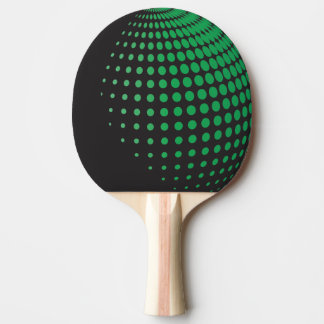 3D Spheres with Dots Ping Pong Paddle