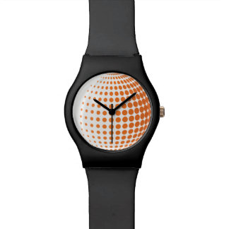 3D Spheres with Dots Watch