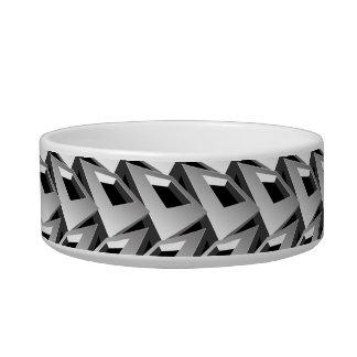 3D squares Bowl