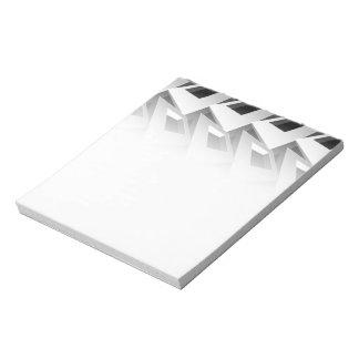 3D squares Notepad