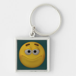3D Style Smiley Keychain