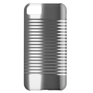 3d Tin Can Texture iPhone 5C Cases